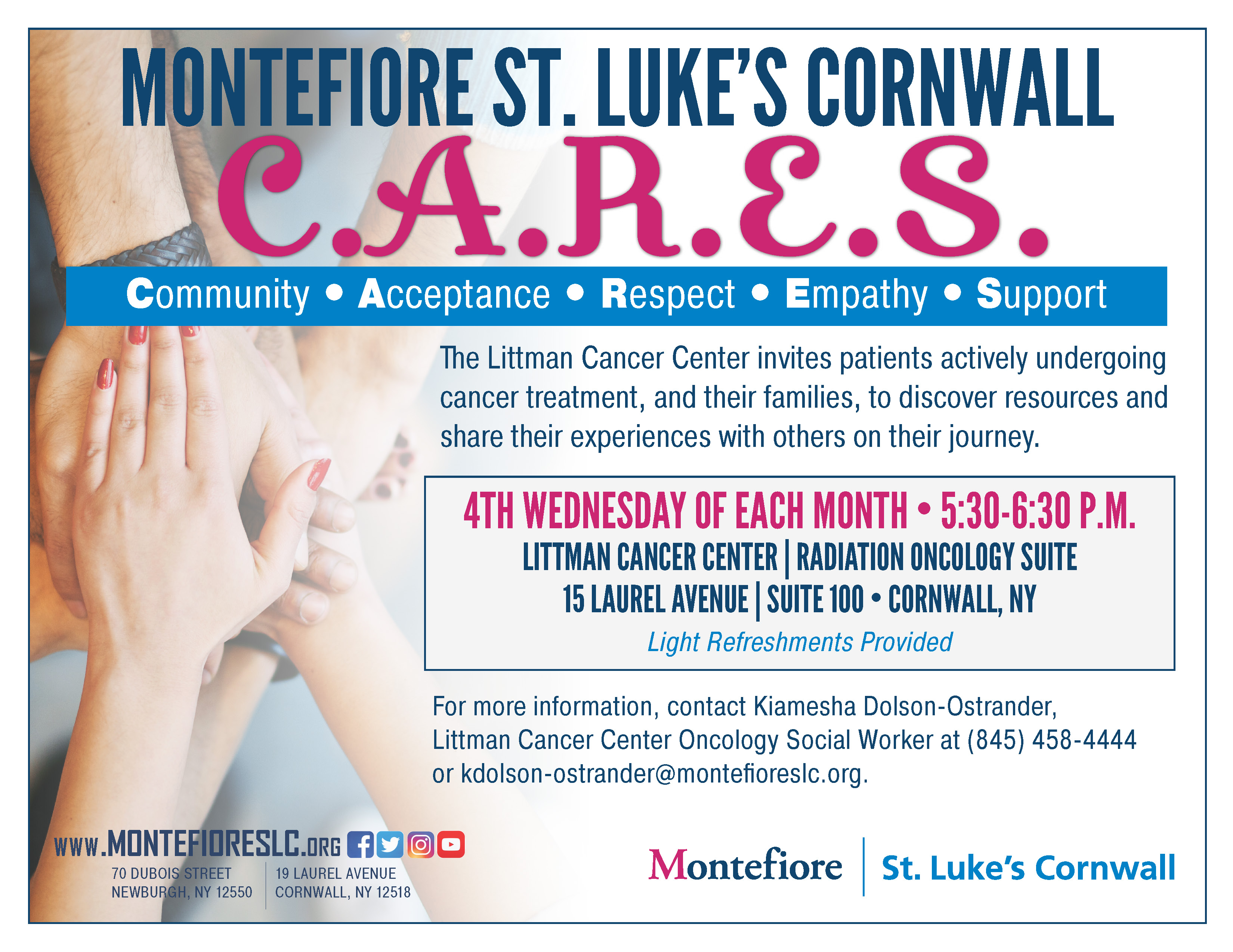 Support Groups | Cornwall Hospital