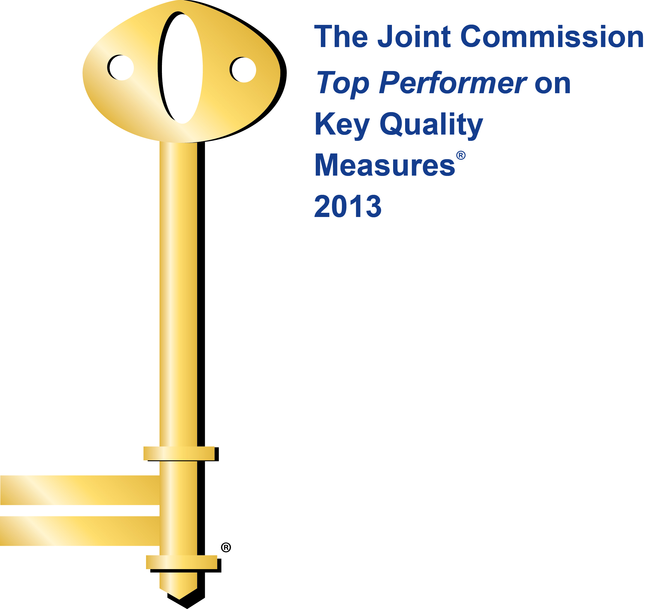 Joint Commission Top Performer 2013 logo